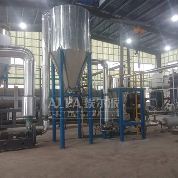 安徽某环保新材料公司 上线二氧化钛粉碎机S-MQP20