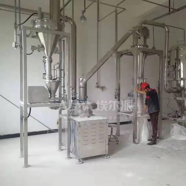 台州某机械设备公司 采购CSM350医药超微粉碎机