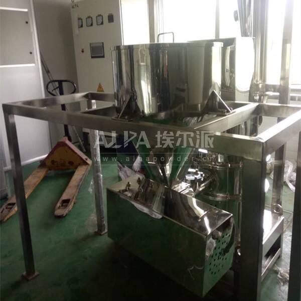 安徽某机械设备公司 购买CSM410-V三七专用打粉机