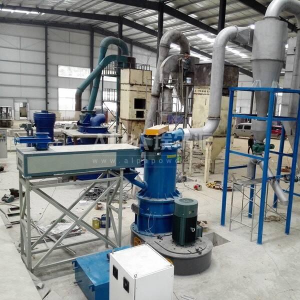 贵州某微粉工业公司  采购CSM1100-V重晶石磨粉机