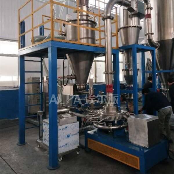 天津某新材料科技公司 购买三元材料MQPW20粉磨机
