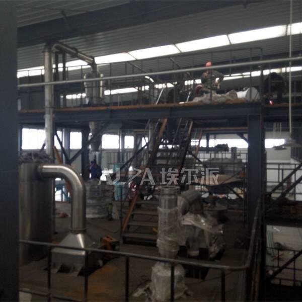 新乡某锂能公司 购买三元超细研磨设备CSM510