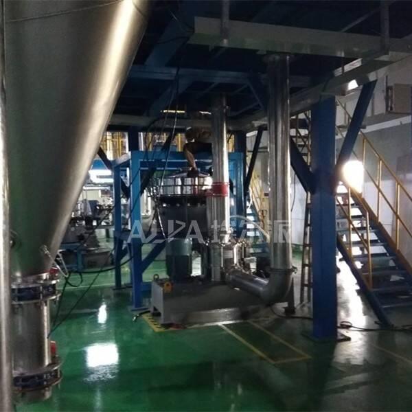 英德市某新能源科技公司  购买高镍三元工业粉碎机CSM450
