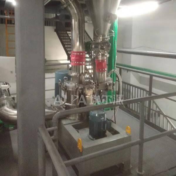 浙江某新能源有限公司 购买三元材料超细粉碎机CSM450