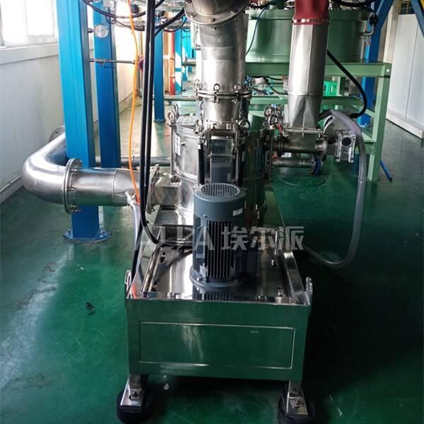 重庆某锂电材料有限公司 购买电池材料超微研磨机CSM450