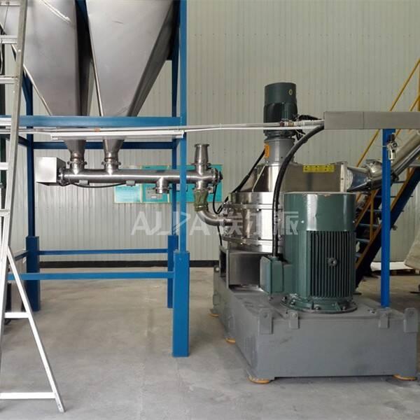 北京某食品有限公司 采购豌豆超微粉碎生产线CSM1100-V