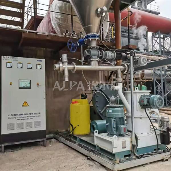 山西某环保科技有限公司 购买小苏打脱硫脱硝磨机TSM400-H