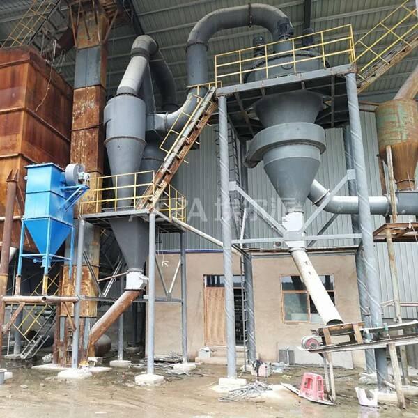 凤阳县某石英砂有限公司 购买石英粉分级生产线FL450