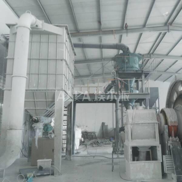 连云港某新材料有限公司 购买硅微粉分级生产线FW315-3