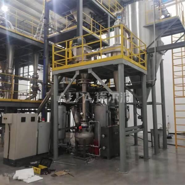 北京某新能源科技有限公司 采购氧化亚硅超细分级设备FW520