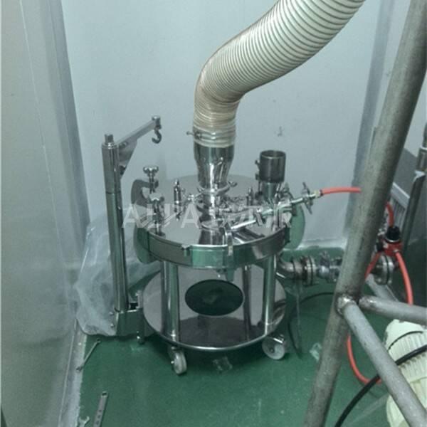山东某制药股份有限公司 购买医药超细粉磨机MQP10