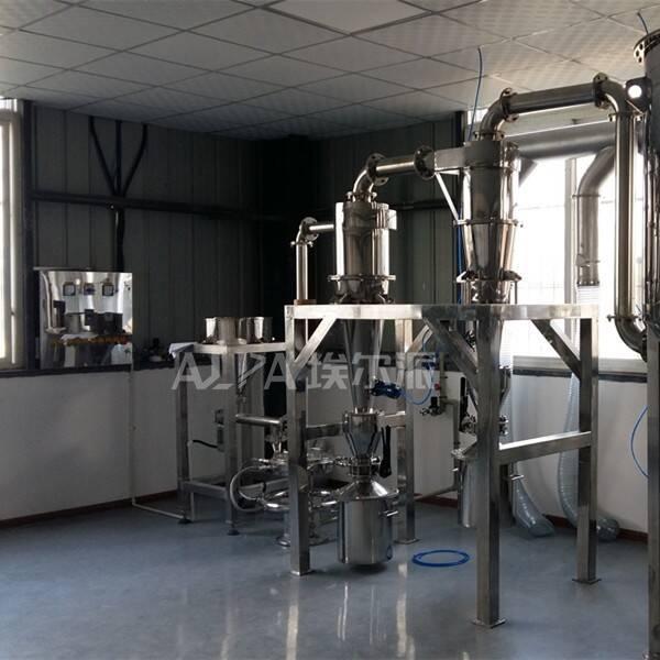 成都市某金属粉体有限责任公司  购买金属粉末超微粉碎设备MQP10