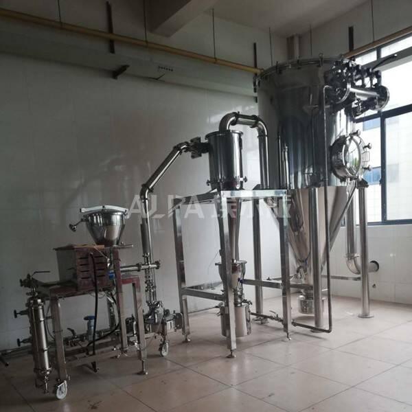 浙江某金属粉体有限公司 采购银粉超微粉碎机设备MQP06