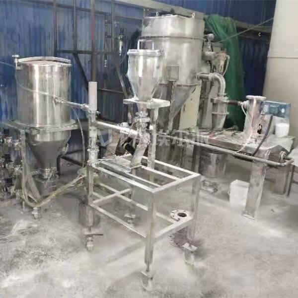 南京某新材料科技有限公司 采购PE蜡化学品超微粉碎机MQP02