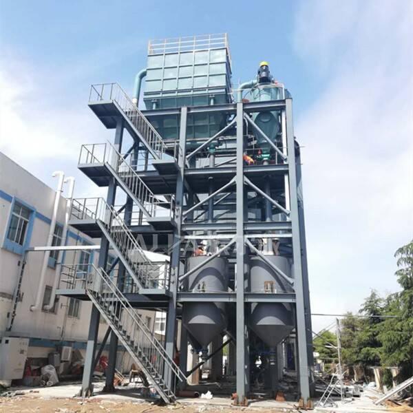 青岛某环保科技股份有限公司 购买硅酸铝超微粉碎生产线FL800